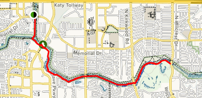 The Anthills Trail via Blue Jay Trail Map