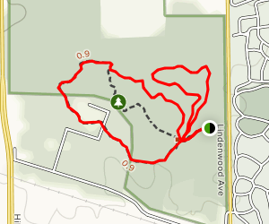 Oak Paradise, Maple Spur, and Trail of Reflection Loop Map