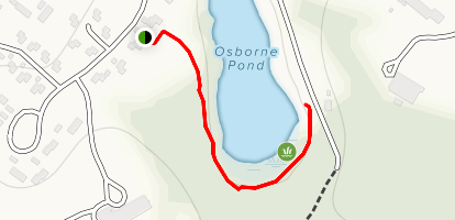 Osbourne Pond Trail Map