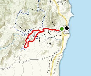 Lolipop, Floating Rock, Wast Loop, Vista Trail Map