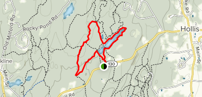 Wildlife Pond, Smith, Wood Duck Pond and Rocky Ridge Loop Trail  Map