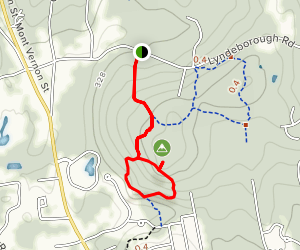 Patch Hill Loop  Map