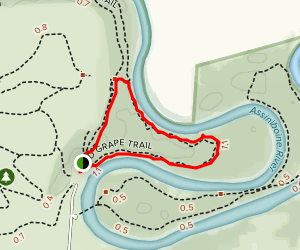 Wild Grape Trail Map