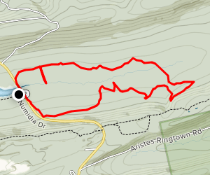 Headwaters and Homestead Loop Map