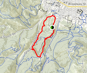Waterline and Rodney Ridge Loop Map