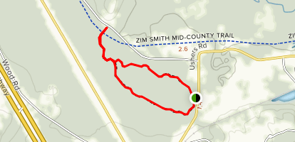 Ushers Road State Forest Trail Map