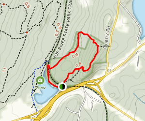 Mohegan Trail Loop Map