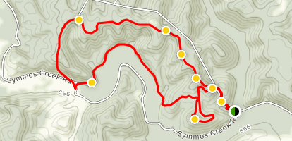 Symmes Creek Trail Loop Map