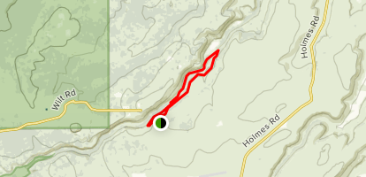 Whychus Rim and Creek Loop Map