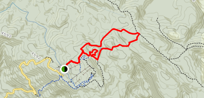 Village Trail, Saint Phillack Saddle, McMillians Trail Loop Map