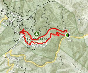 Sprig Trail and Blackhawk Canyon Loop Map
