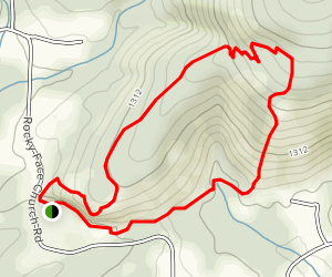 Vertical Mile Challenge Map