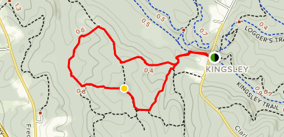 Beaver Valley, Woodcock Hollow, Mound Builder Map