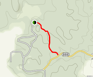 Rolling Hills Trail (Gold) Map