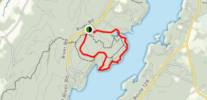 Old Farm and Shore Loop Map