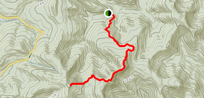 Wittenberg, Cornell, and Slide Mountain Trail Map
