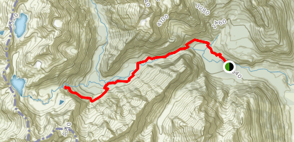 Routeburn Falls Map