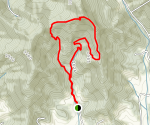 Bailey Mountain Loop Map