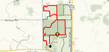 Hampshire Illinois Map.Songbird Loop Trail To Grassland Loop Trail Illinois Alltrails