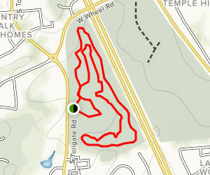 Dragonfly, BEAR Adventure, Story Forest and CFA Trail Loop Map