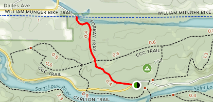 Forbay Trail Map