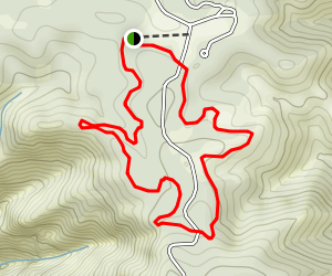 Far Out and Cañon Vista Loop  Map