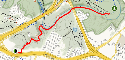Violet Crown Trail Map