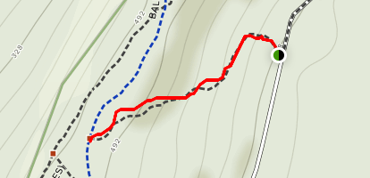 West Rock Yellow Trail Map