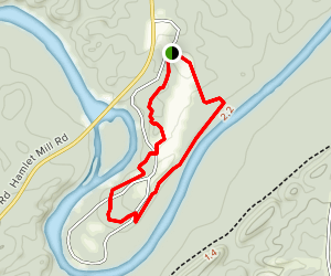 Horseshoe Bend National Military Park Nature Trail Map