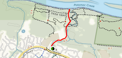 Horse Pen Run Map