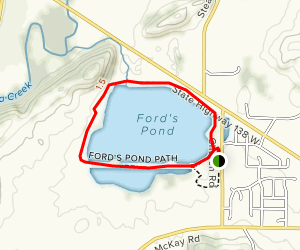 Ford's Pond Path  Map
