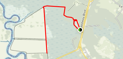Kingfisher Loop and Tupelo Trail Map