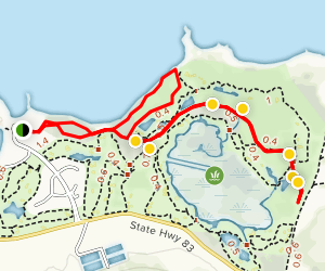 Turtle Bay and Kuilima Golf Course Trails Map