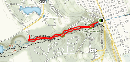 Gorge Trail and Indian Trail Loop - New York   AllTrails on