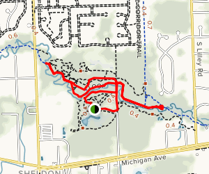 Loop and Lower Rouge Trail  Map