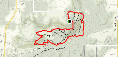 Hopkins Demonstration Forest Outer Loop Map