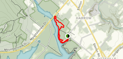 Cold Spot and Hammer Trail Loop  Map