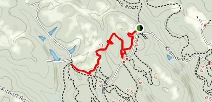 Abby's Trail Map
