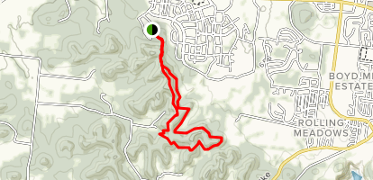 Westhaven West Slope and East Slope Trail Map