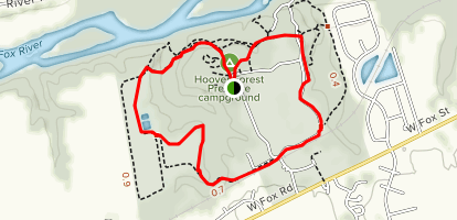 Hoover Forest Loop Trail  Map