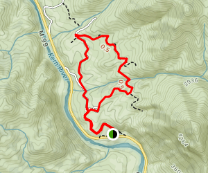 Lower Rincon Trail Loop Map