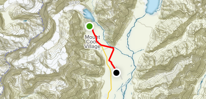 Alps to Ocean Segment 1: White Horse Hill Campground to the Airport Map