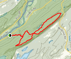 Kaiser, Appalachian, Rattlesnake Swamp, and Coppermine Trails Loop Map