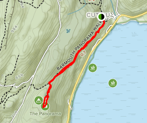 Barmouth Panorama walk Map