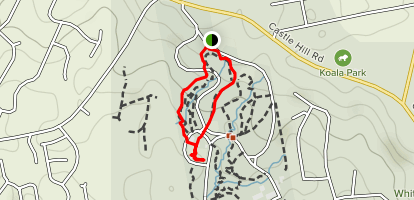 Palm Gully Trail Map