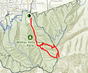 Covernent Loop Track to Mount Vernon Track Map