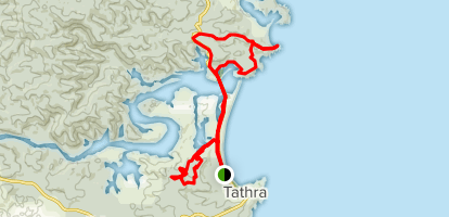 Tathra, Moon Bay and Track 1 Loop Map