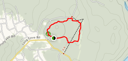 Nathan Lester House Peripheral Hike Map