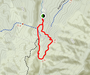 Tunnell Gully to Track Loop Map