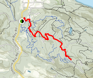 Story Trail and Lower Xylem Map